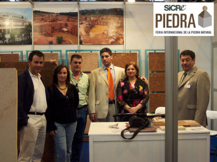 Aguilera Marble at the Natural Stone Trade Fair in Madrid, Spain