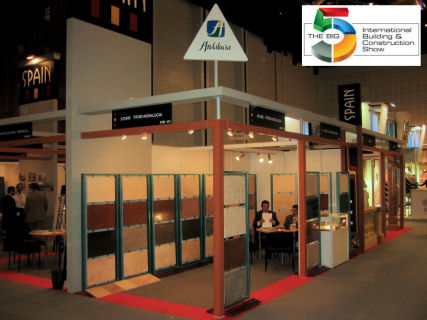 Aguilera Marble at the Building and Construction Show in Dubai, UAE