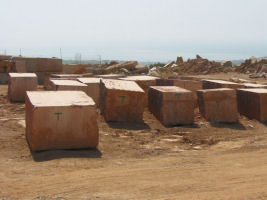 Aguilera Marble Red and Bronze Marble Quarry