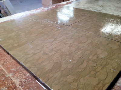 "Aged Bronze Marble Tiles ""CostaSol"""
