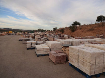 Stock of Natural Stone Materials