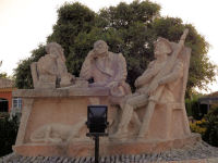 "Sandstone Sculptures at ""Camping El Sur"""